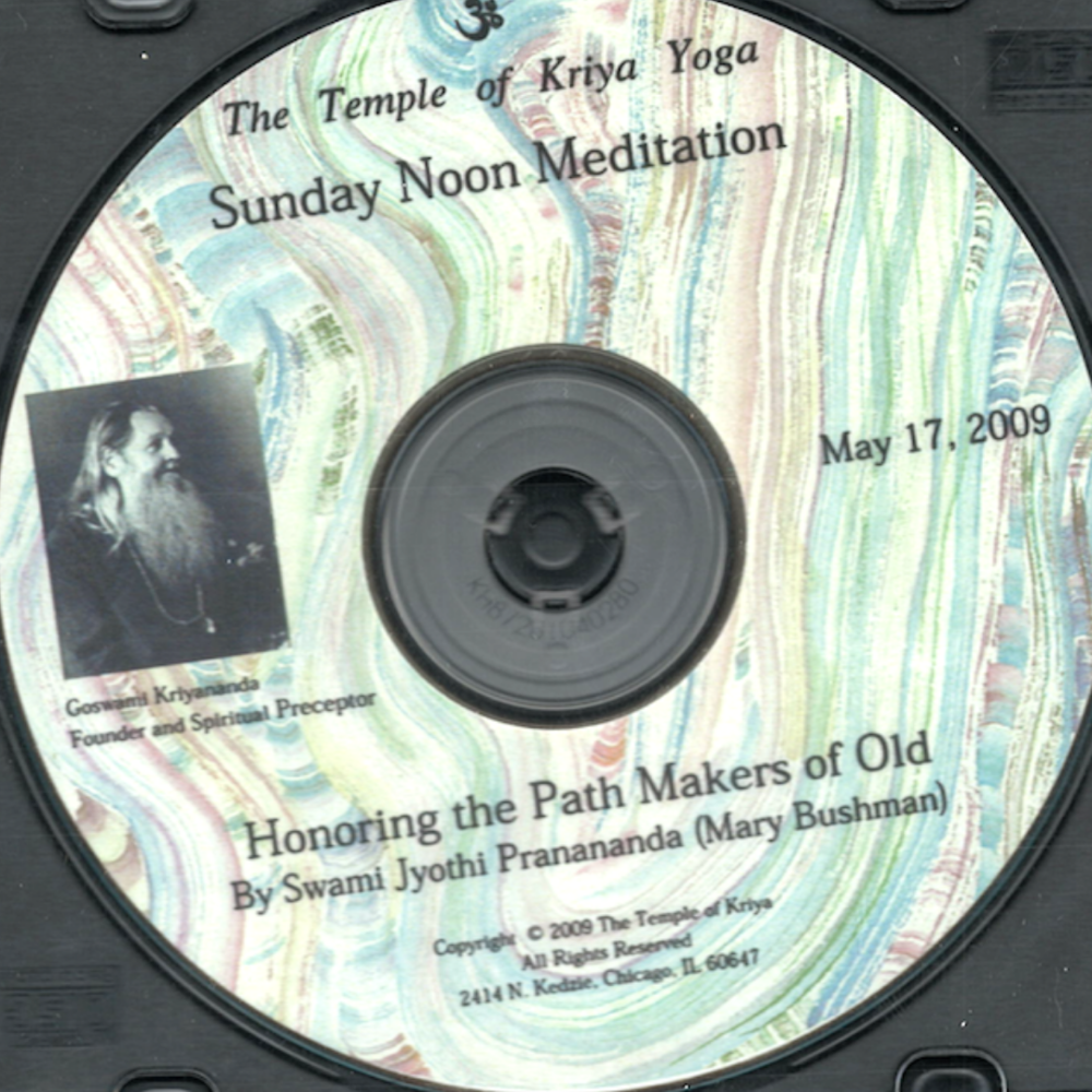 Honoring the Path Maker of Old CD - $5