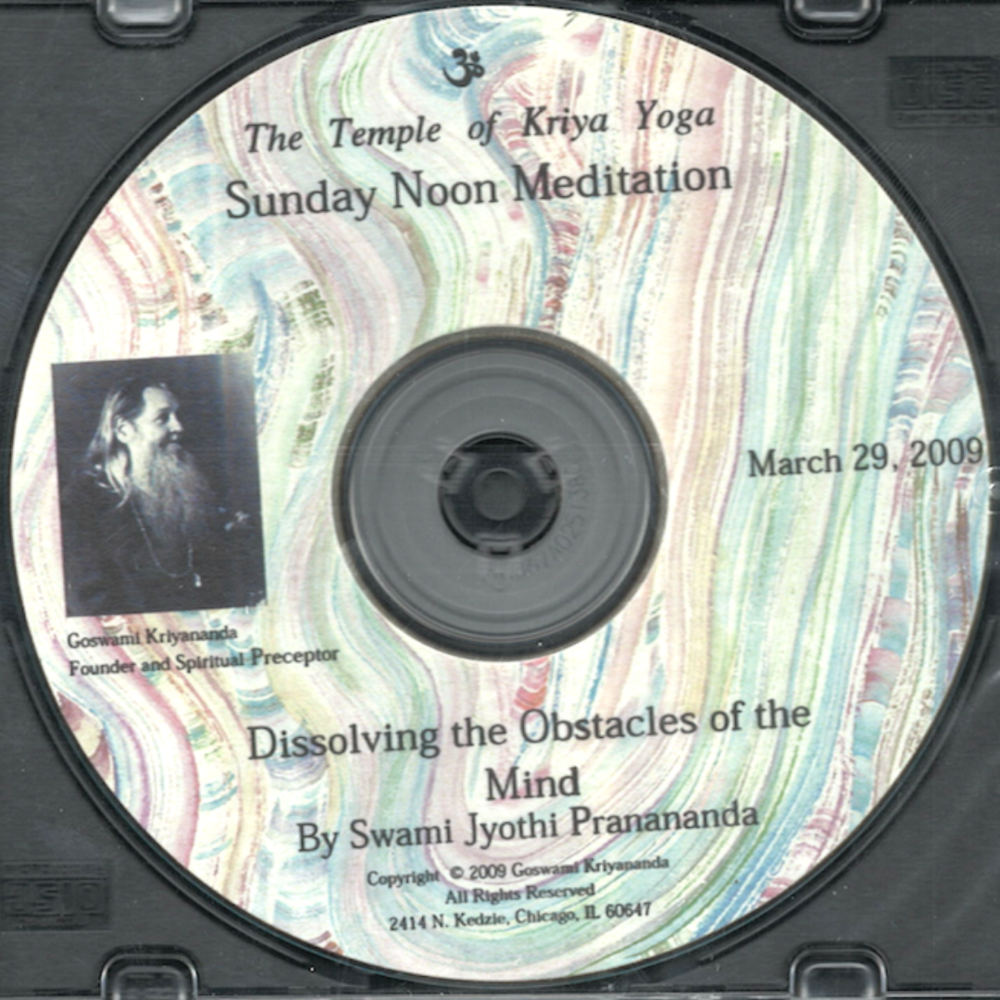 Dissolving the Obstacles of the Mind CD - $5