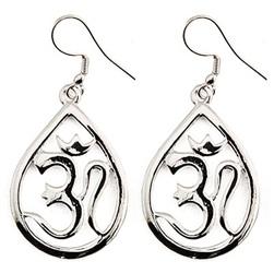 Om Symbol Earrings - $14.30
