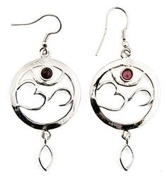 Garnet Earrings - $14.30