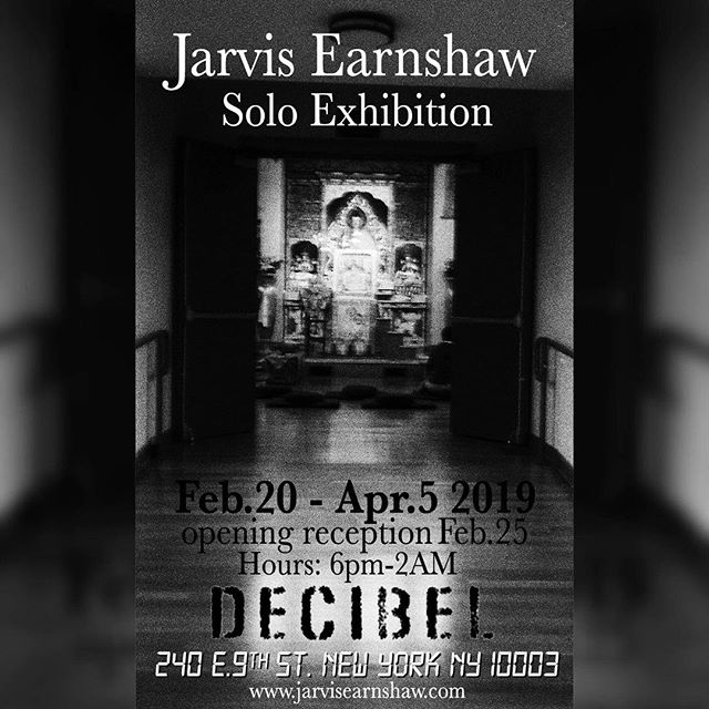 "Here comes our 1st ever photo exhibition, Jarvis Earnshaw's ""Nothing In The Way"" dedicated to the life and death of Kurt Cobain beginning Feb 20th!  Come thru!!"