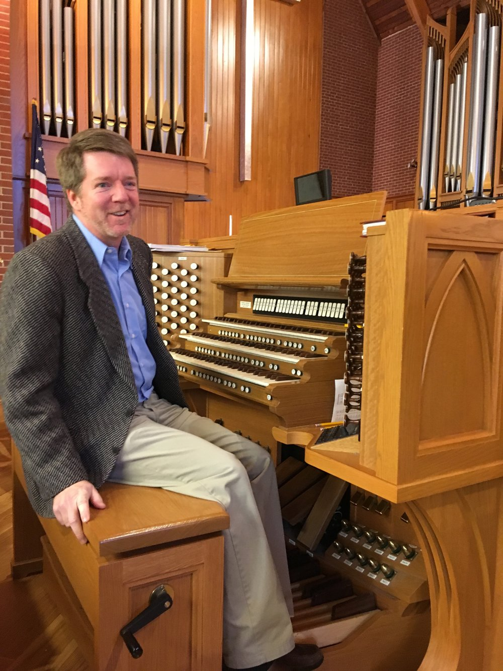 Organist and Choirmaster of St. Michael's Episcopal Church, Raleigh