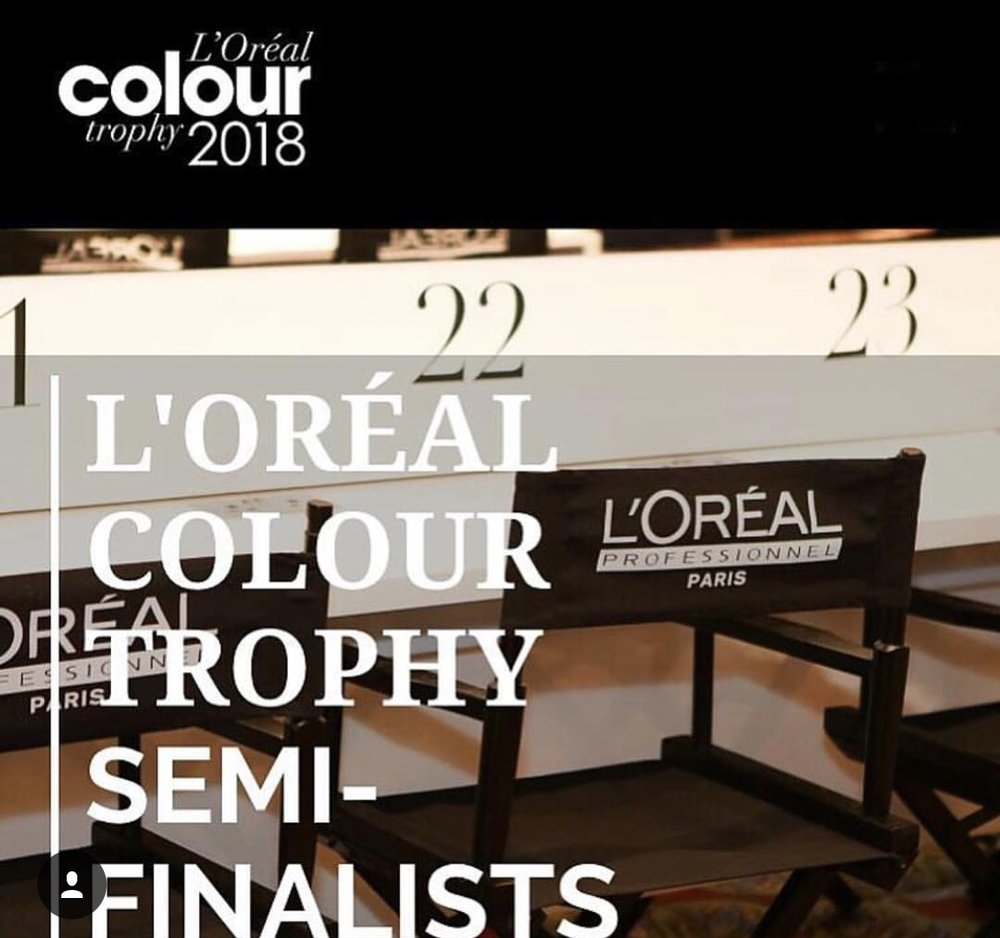 L'OREAL COLOUR TROPHY SEMI FINALISTS