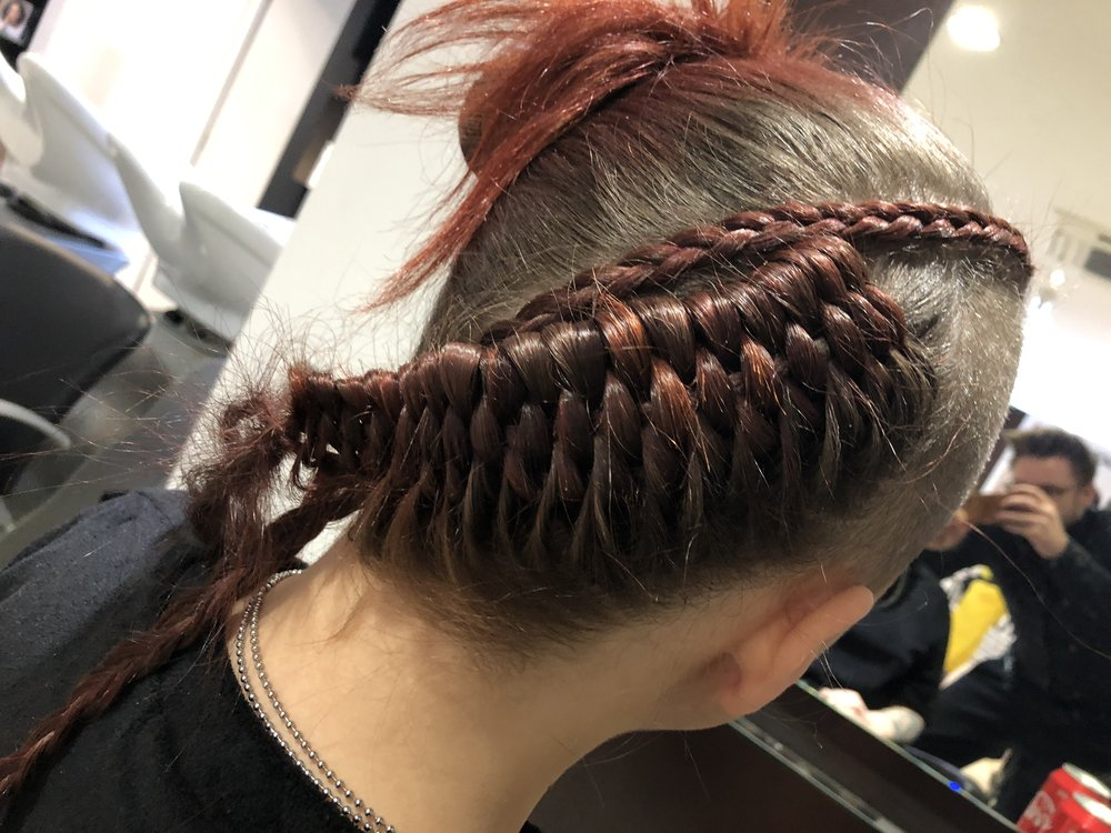 Figure of 8 this braid out?