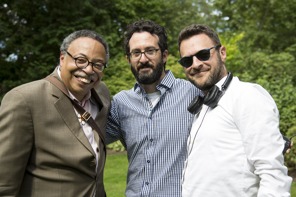With filmmakers Leslie Schachter & David Richler,  Rideau Hall, Aug 2017