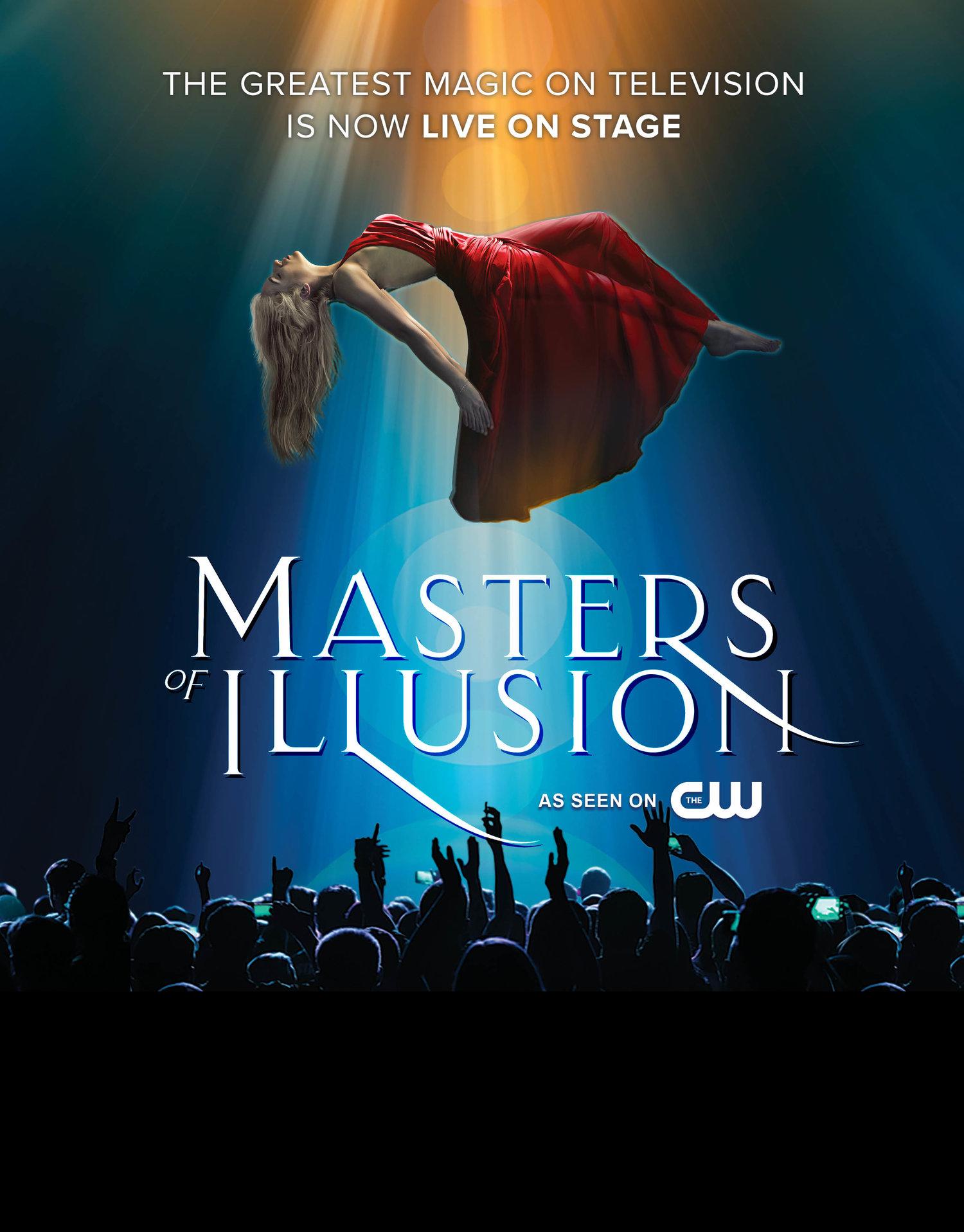 Masters of Illusion — Lowell Memorial Auditorium