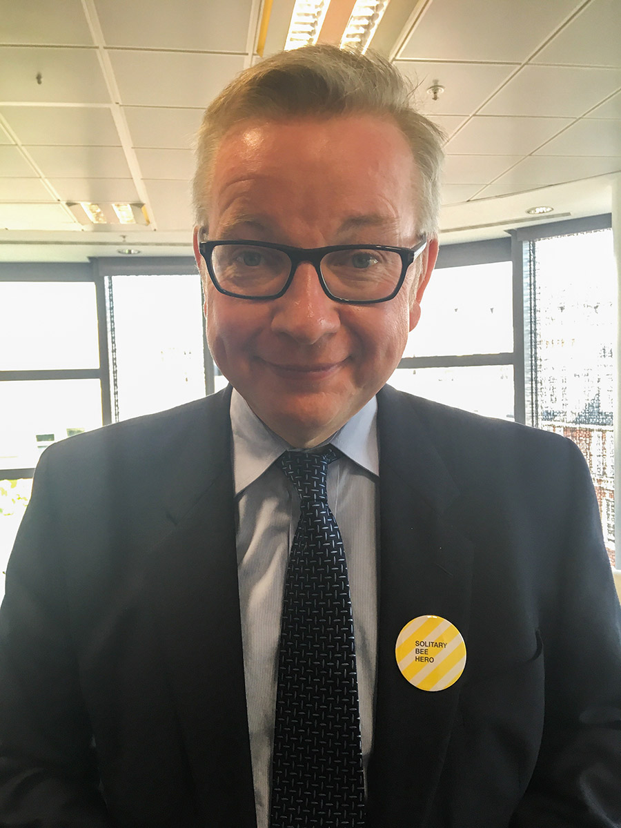 Secretary of State for the environment - Michael Gove