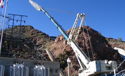 Crane lifting switch gear