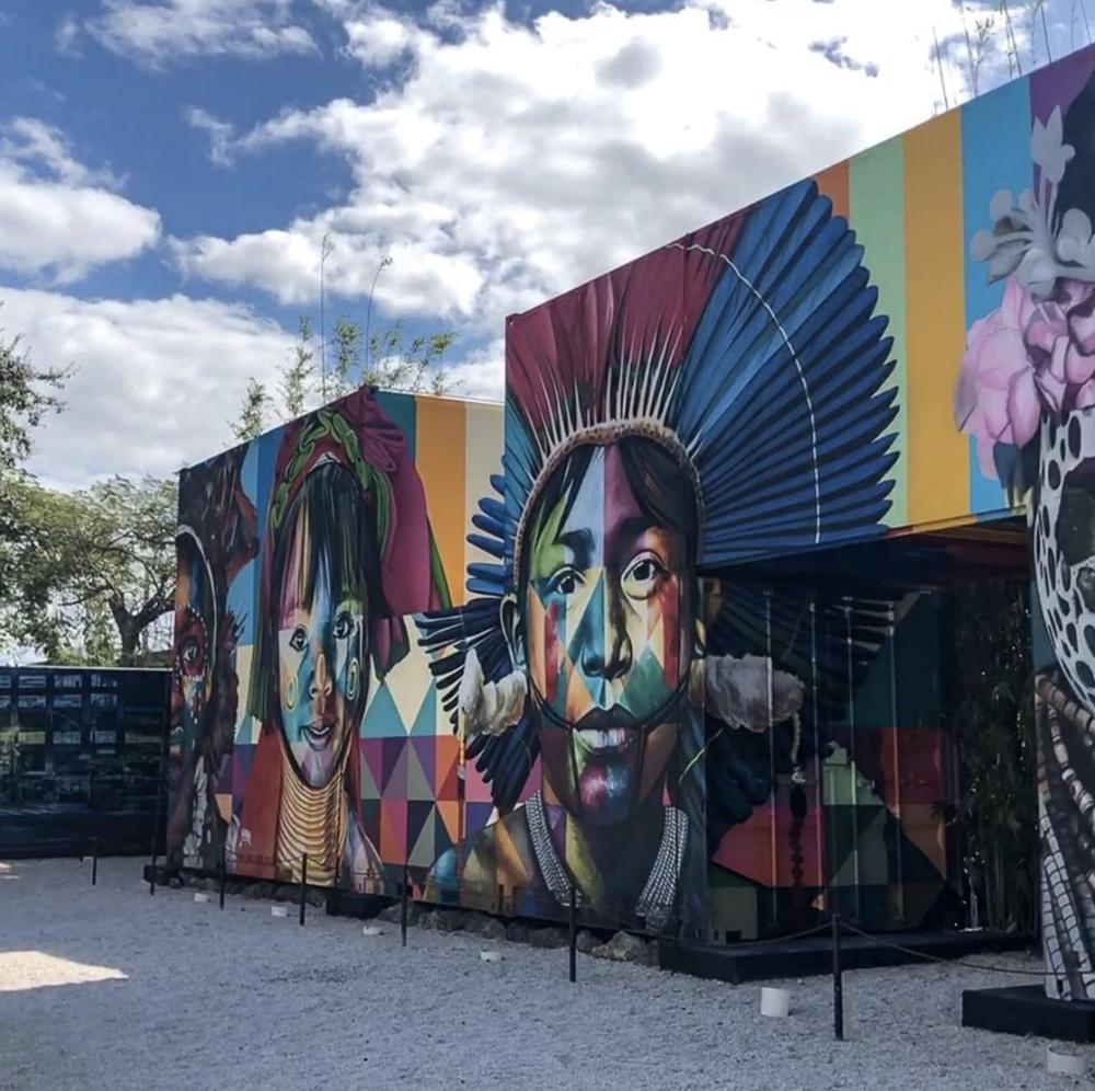 Mural by EduardoKobra