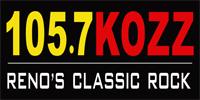 KOZZ 105.7 FM - Reno, NV - Classic Rock