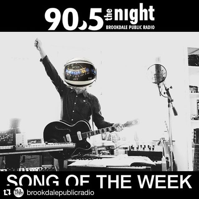 "#Repost @brookdalepublicradio ・・・ Make sure to check out & download our free #SongoftheWeek at 90.5TheNight.org! This week it's ""New Number One"" from @thejackdrag"