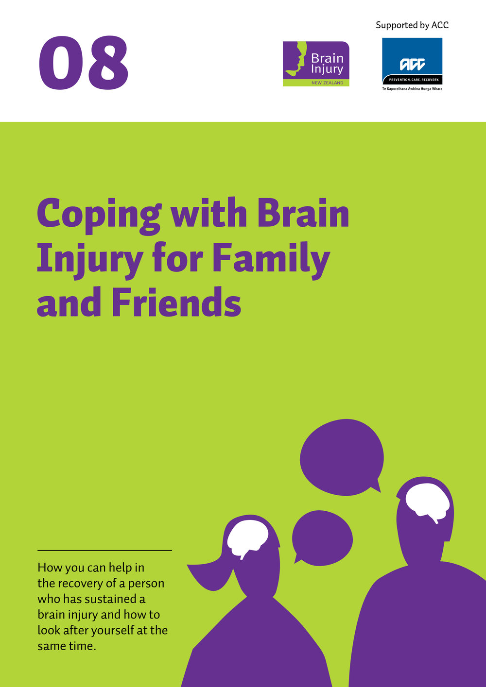 08 Coping with brain injury for family and friends