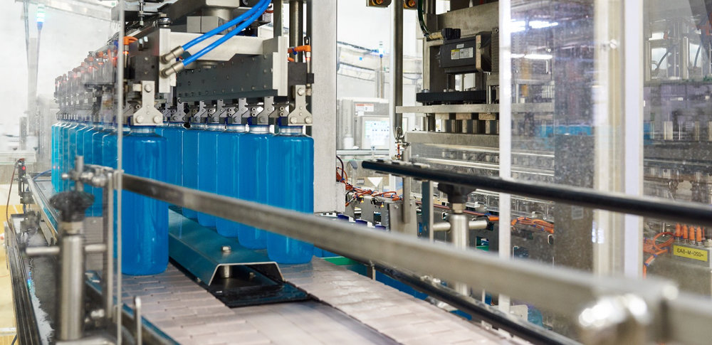 One-Stop Shop - We provide end-to-end solutions to our customers, this includes; package design, bottle blow molding, recipe development support, plant trials, manufacturing, quality inspection, warehousing, and shipping.