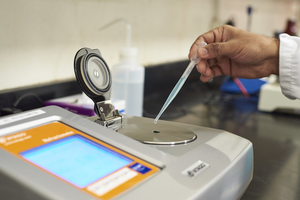 Analytical Testing - We review and improve our analytical testing procedures and equipment to ensure the results of our laboratory analysis are consistent and accurate.