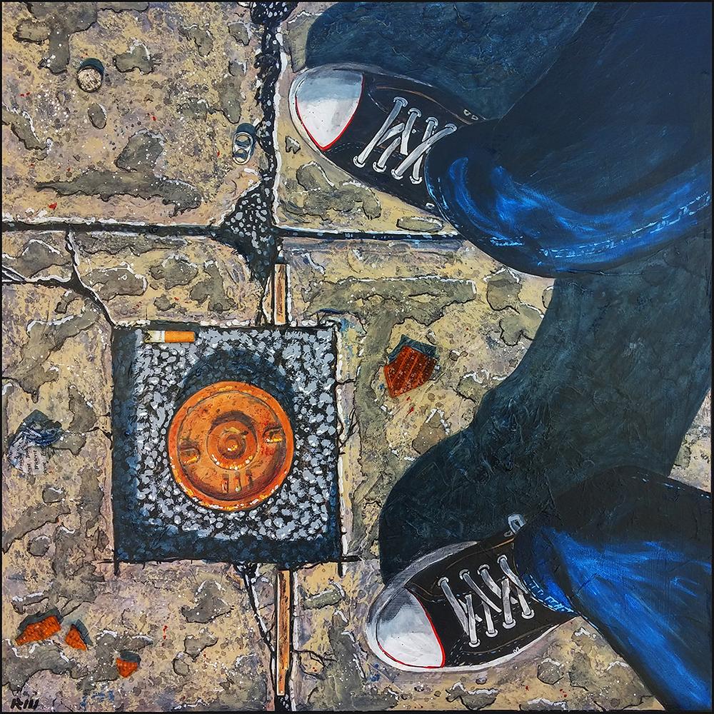 Robert Mondoux:  Paysages urbains qui embrassent les coins des environs de la ville. /  Urban Landscapes & images that embrace corners & rooftops of city surroundings.    7400 Sherbrooke West # 1117