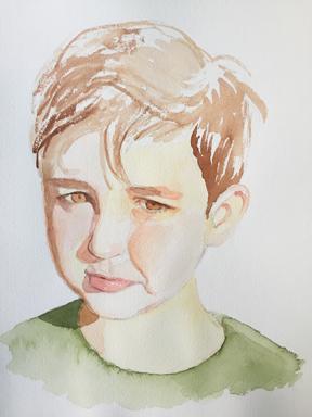 Tamar Peled   :  Portraits qui captent le expressions et personnalité de ses jeunes enfants. /  Portraits that capture the expressions & personality of her young children .  4807 Draper