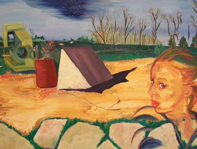 Venus Lukic   :  Peinture figurative et objectif avec un corp vaste abstraites et conceptuelles. /  Figurative and objective painter, with a large body of abstract and conceptual works.   25 - 5045 Ave. Macdonald