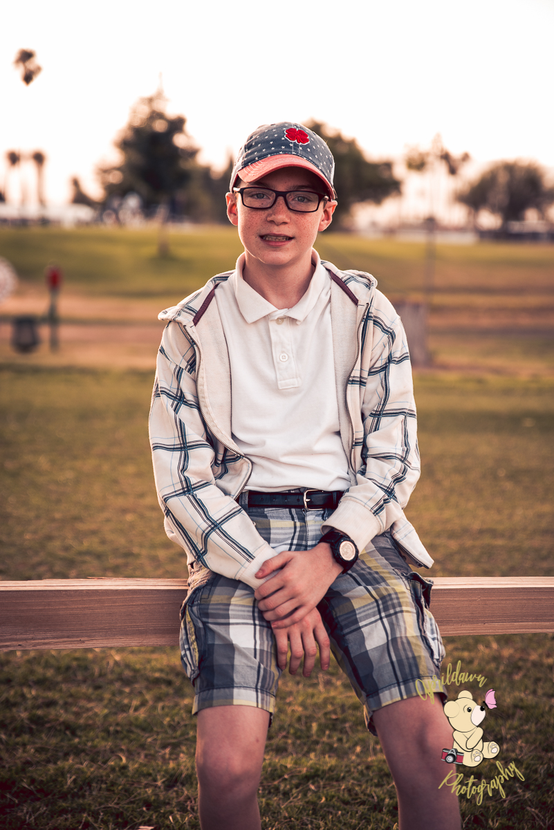 Meet Austin, Age 13 - Aprildawn Photography's Beautiful Child of 2018