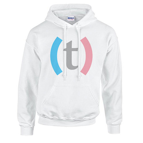 (T) Hoodie $50 USD - Fifty dollar donation gets you a Transmasculinidad branded t-shirt.