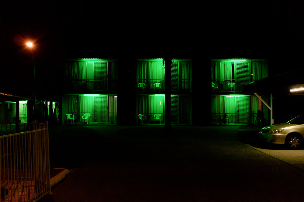 Dale Harper - Labrador Green Motel at Night.jpg