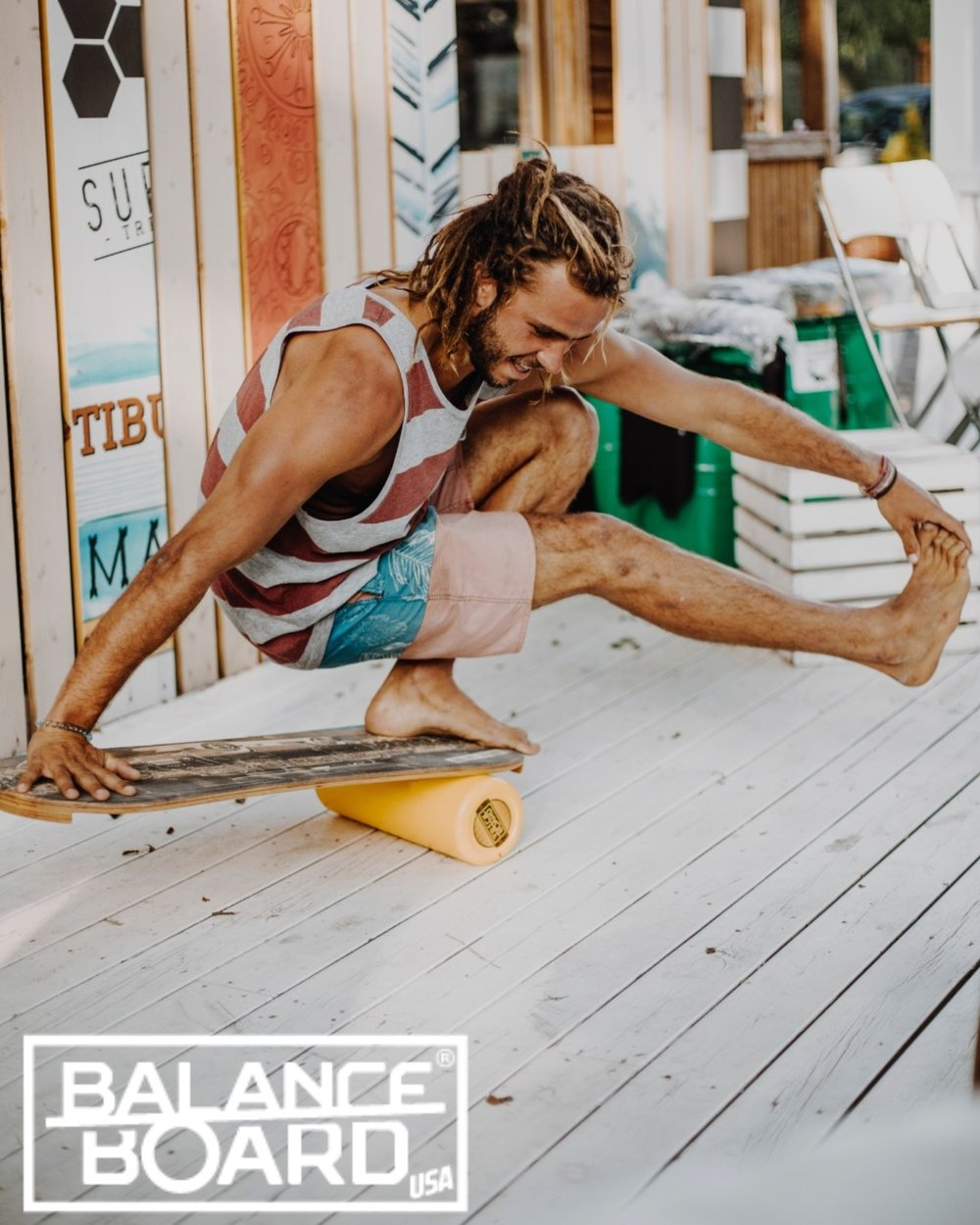 ALL ROUND WORKOUT - Developed working together with professional athletes and has been proven to be an effective tool for fine motor skills development. Coordination of small muscles, and synchronization with the eyes is crucial part of any sports and injury prevention training.Trickboard Balance Board gives you the opportunity to improve your stability and balance and use it with any other athletics like canoeing, bicycling, martial arts, dance, basketball and many more. This list has no end. Surprise your friends and training partners with new skills.