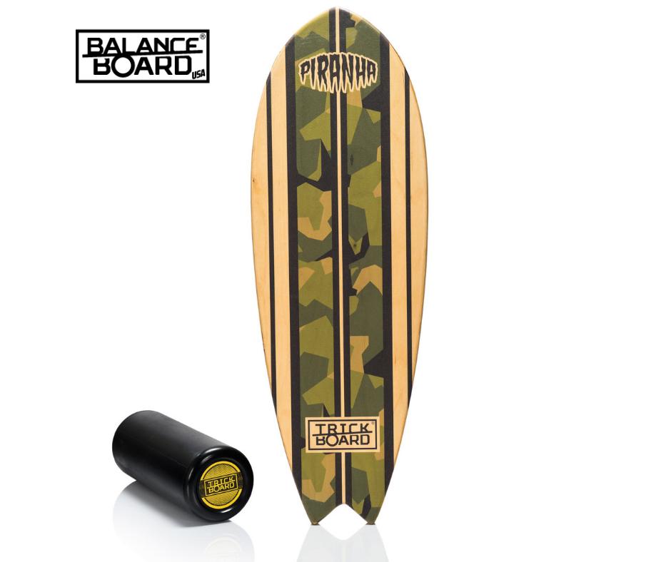 Carpet Piranha Roller Balance training Trickboard Balance Board SET