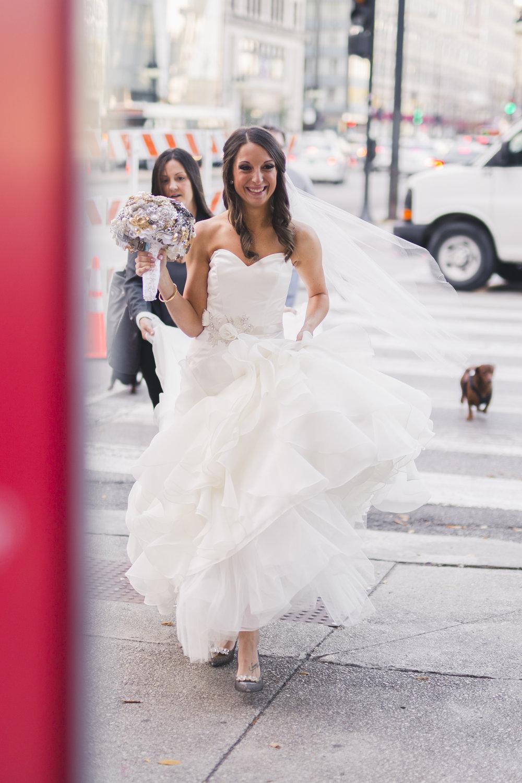 Romantic Black + White Downtown Chicago Wedding | The Blackstone Hotel57.jpg