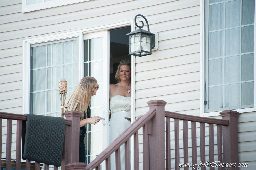Rustic Tented Backyard Wedding | LGBT | Red, Black + White Wedding21.JPG