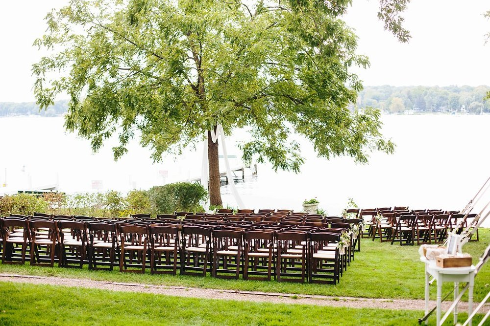 Backyard Tented Lakeside Boho Wedding | Williams Bay, WI1.jpg