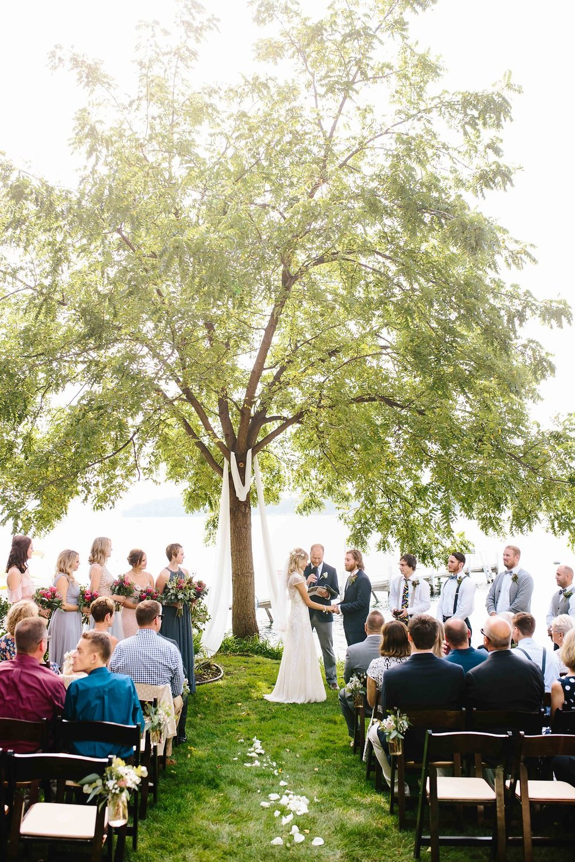 Backyard Tented Lakeside Boho Wedding | Williams Bay, WI10.jpg