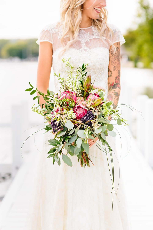 Backyard Tented Lakeside Boho Wedding | Williams Bay, WI39.jpg