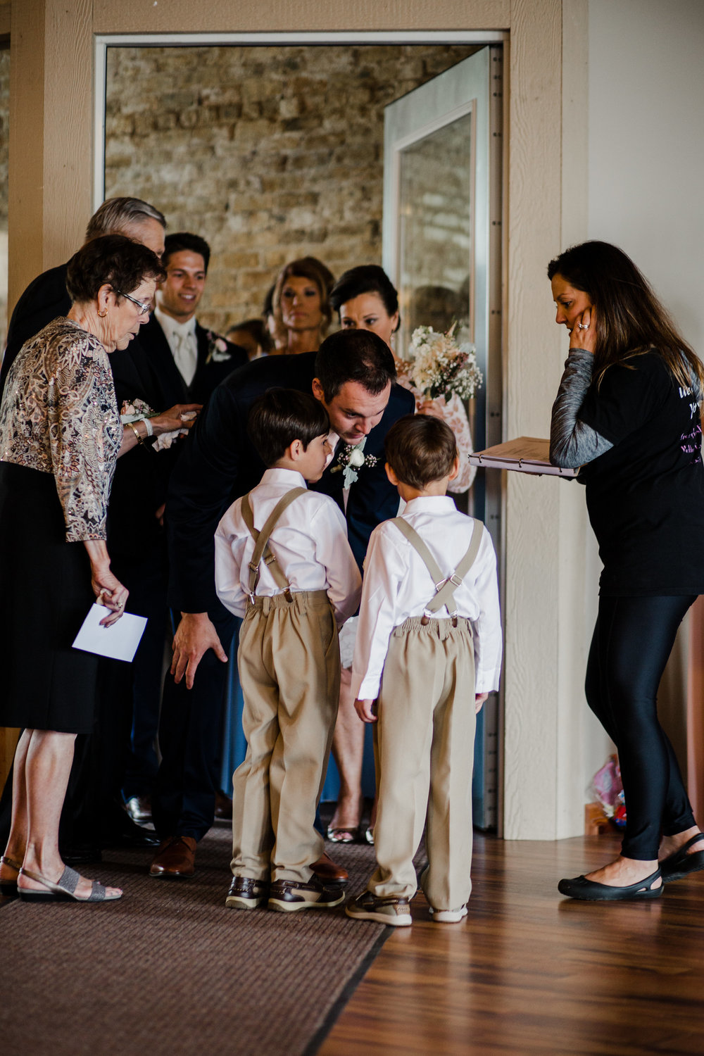 PREPPING FOR THE CEREMONY PROCESSIONAL | Photo by:  Palette of Light