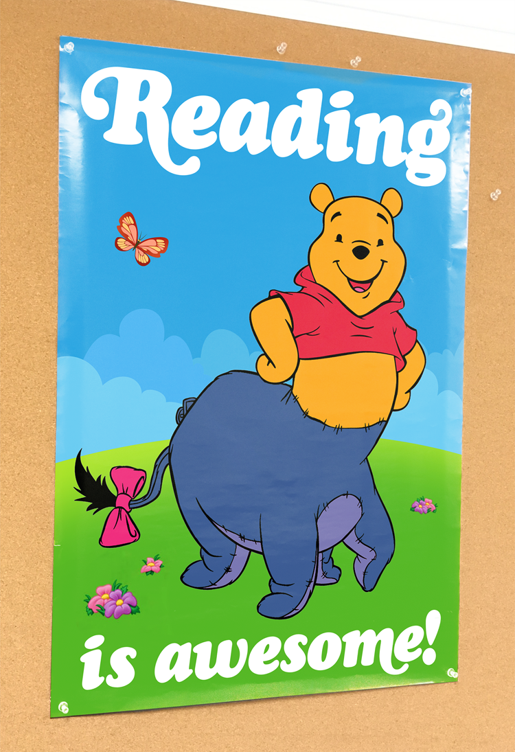 liartownusa :      Reading is Awesome! poster