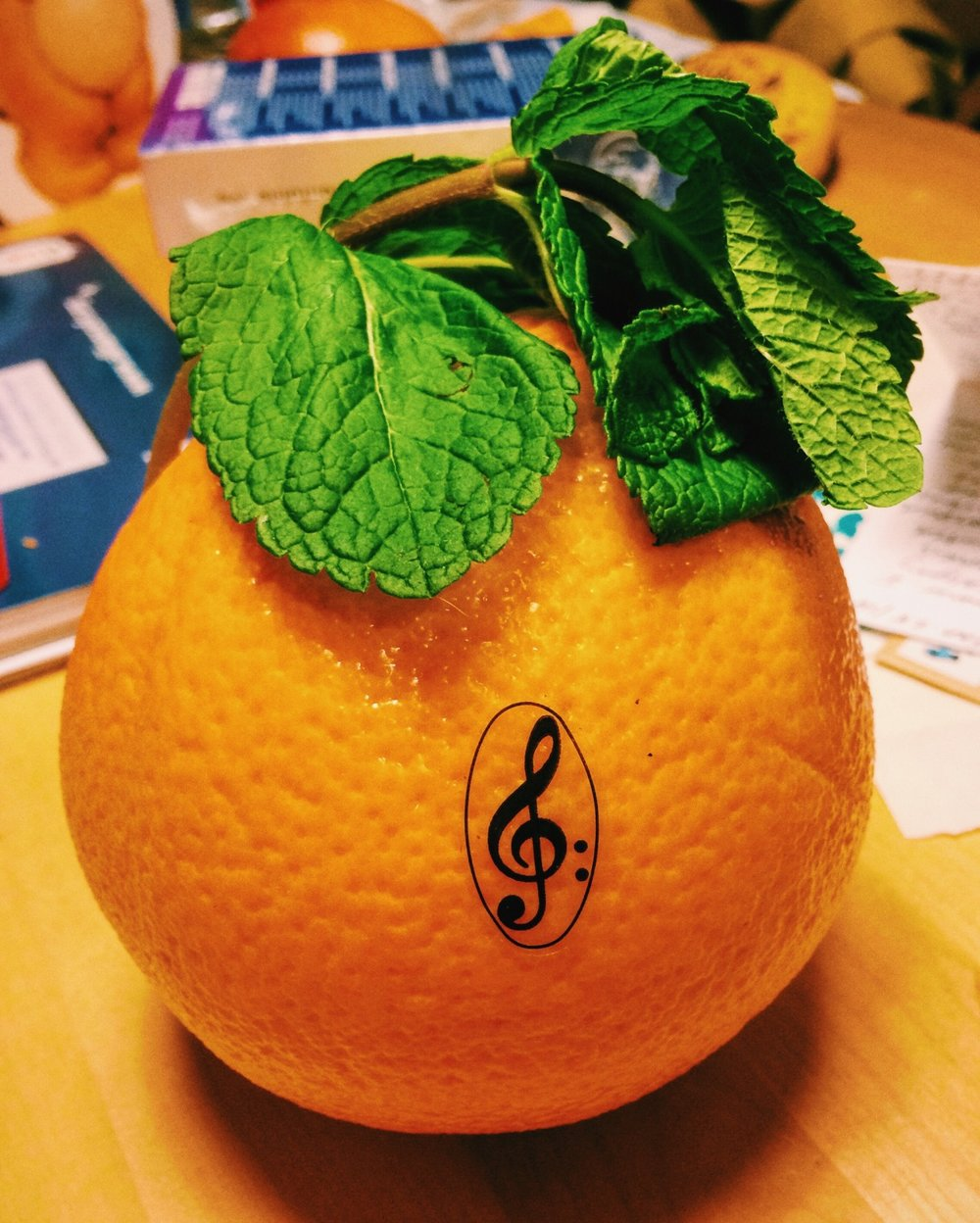 musical fruit