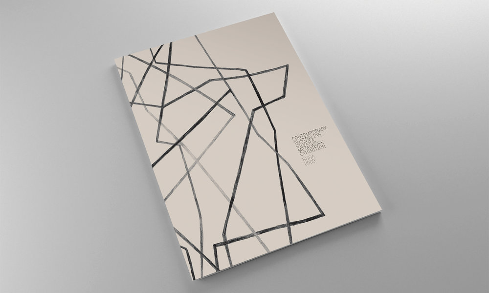 Contemporary Australian Silver & Metalwork Award 2009  catalogue.  view case study