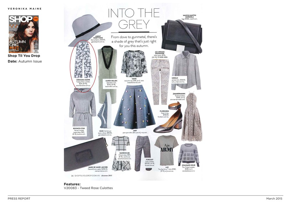 Veronika Maine AW15 Press Coverage - SHOP Til You Drop - Autumn Issue 2.jpeg