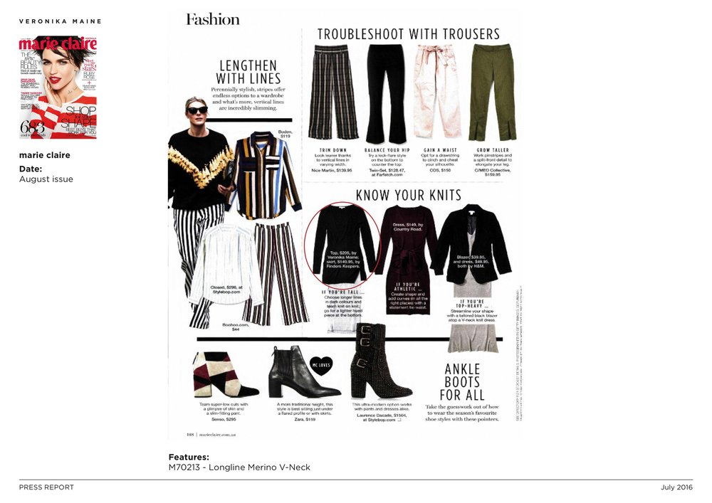 Veronika Maine W16 Press Coverage - marie claire - August issue 3.jpeg