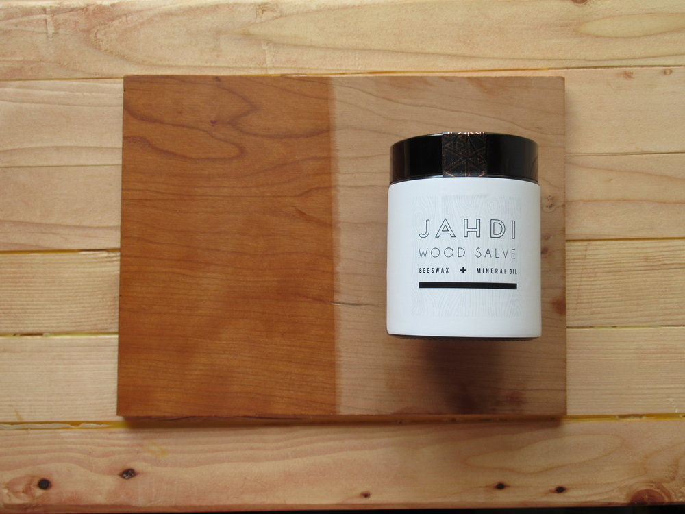 SHOP BEESWAX + MINERAL OIL WOOD SALVE - 100% NATURAL | APPLY WITH YOUR HANDS AND BUFF OFF WITH A LINT FREE CLOTH. #MAGICAL