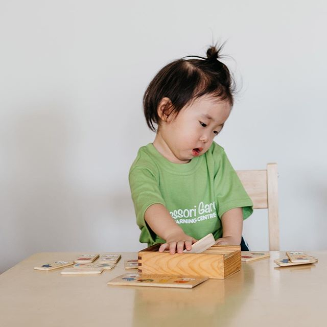 It's more than just blocks. It's the foundation of their education! Developing a passion for curious learning is a big focus here at Montessori Garden.