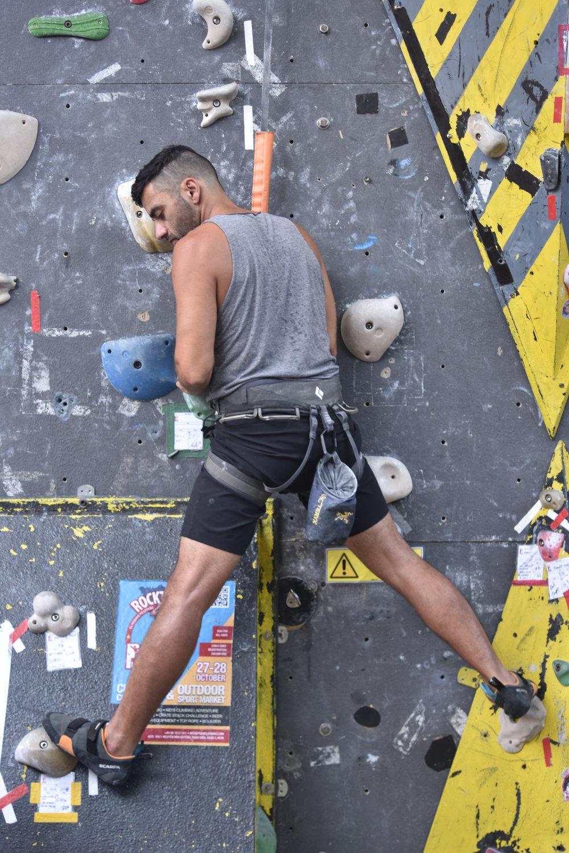 Human X push climbing saigon climbing geometry