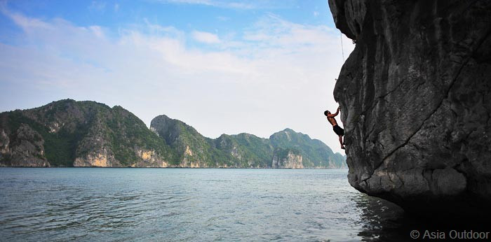 "Asia Outdoors. Think ""Push Climbing"" but you're in the wild."