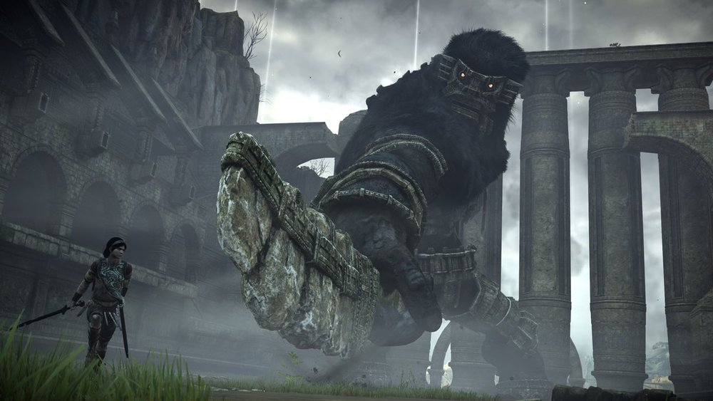 8 - Shadow of the Colossus (2018) - Absolute units.