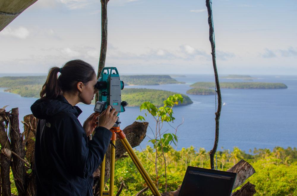 Tonga whale research.