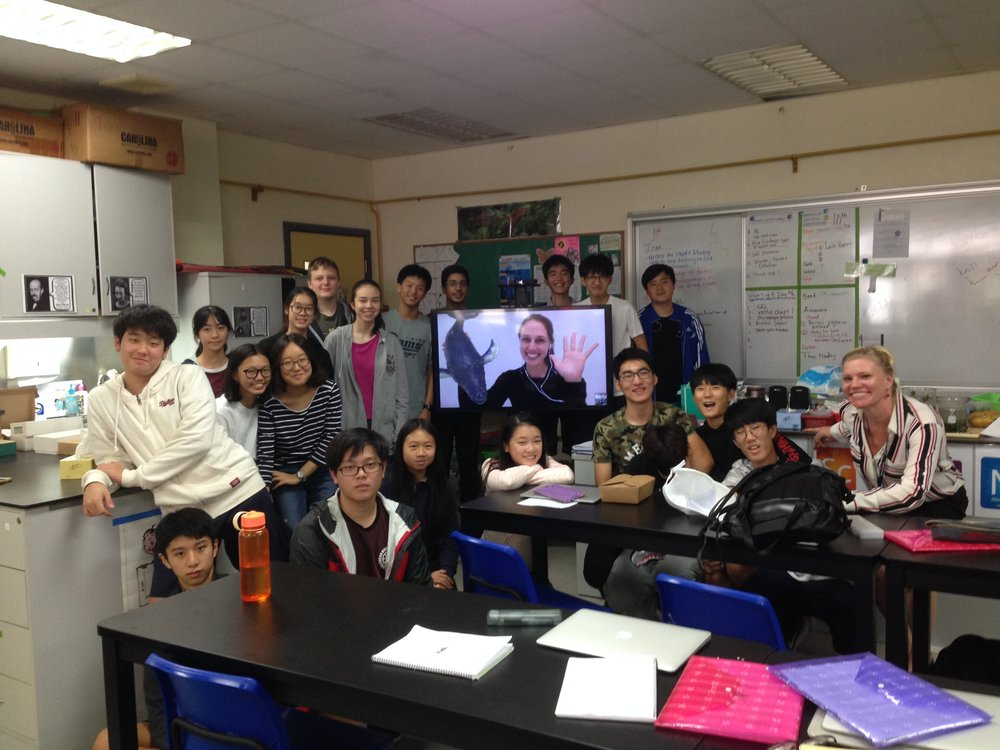 Skype-A-Scientist - Skype with American International School of Guangzhou.