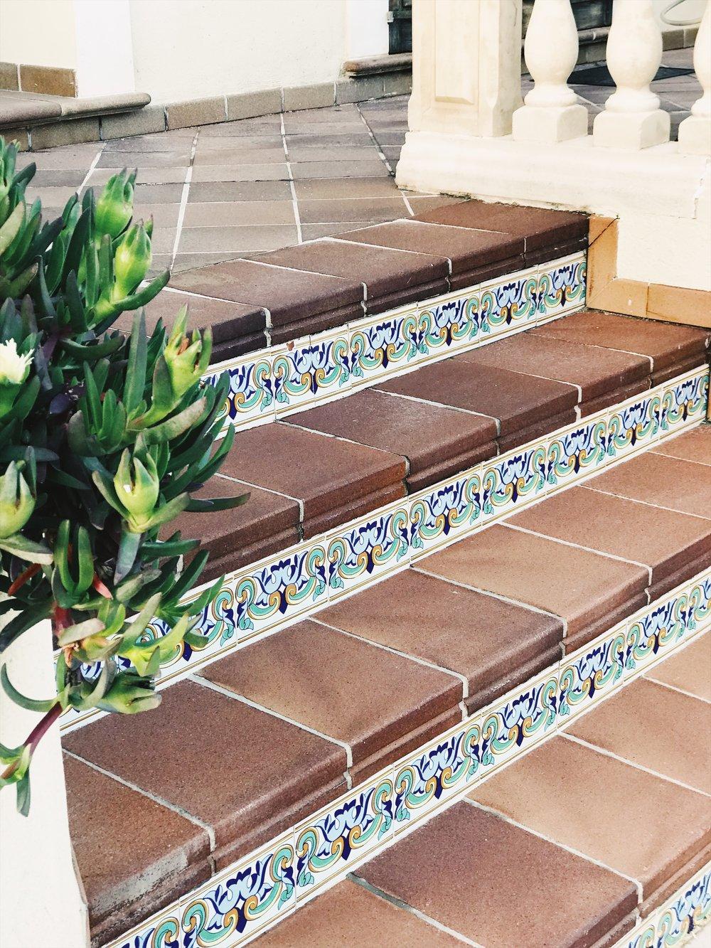 Älskar detaljerna på trappstegen, hur fint är det inte?