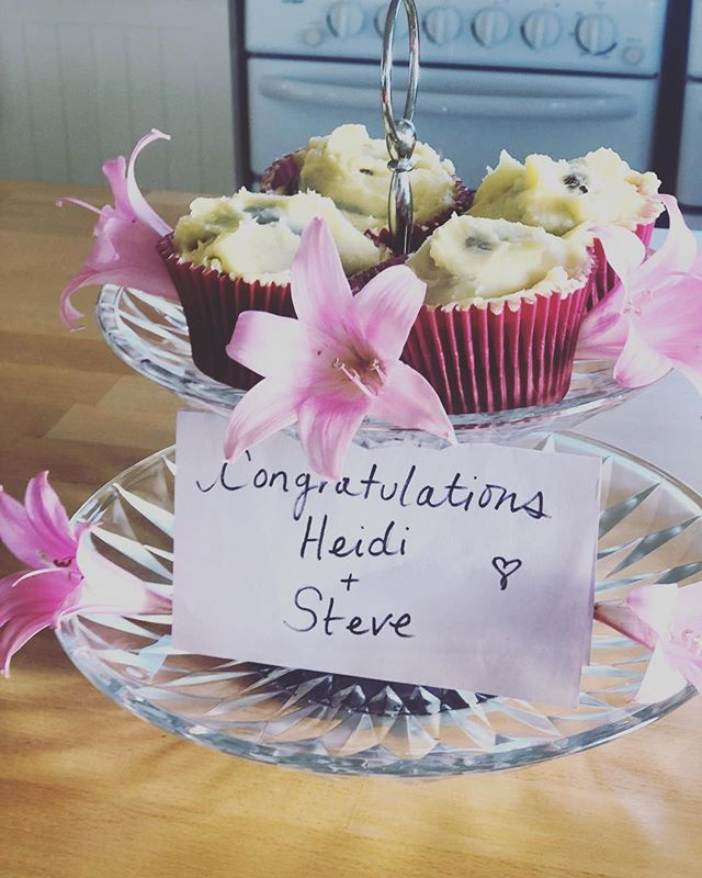 Special treats for special guests 🌸💕#newlyweds #threehummockisland