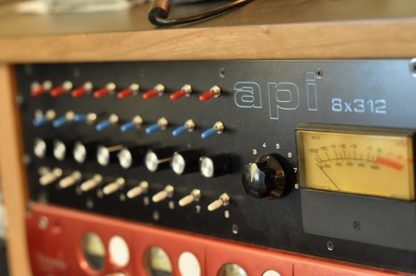 API 312 (vintage 312-a cards, 8ch)