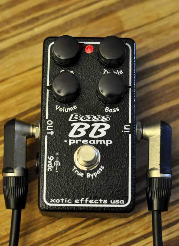 Xotic Effects BB Bass Preamp
