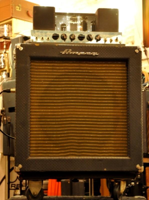 60's Ampeg B15 Bass amp