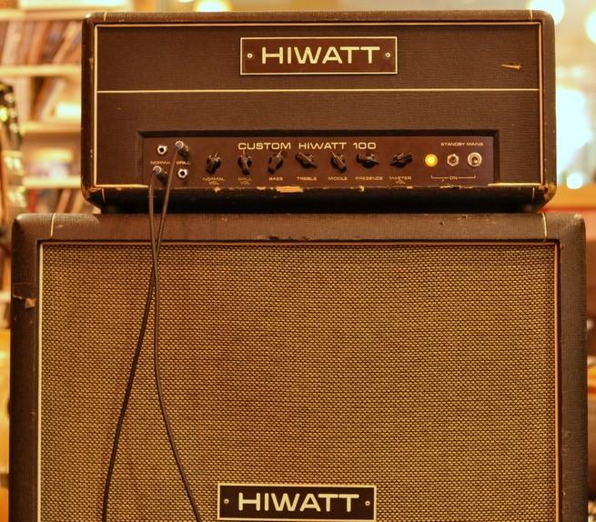 Hiwatt Custom 100 head, SE4122 4×12 cabinet